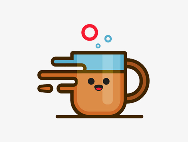 Coffee cup png cute. Illustration material lovely and