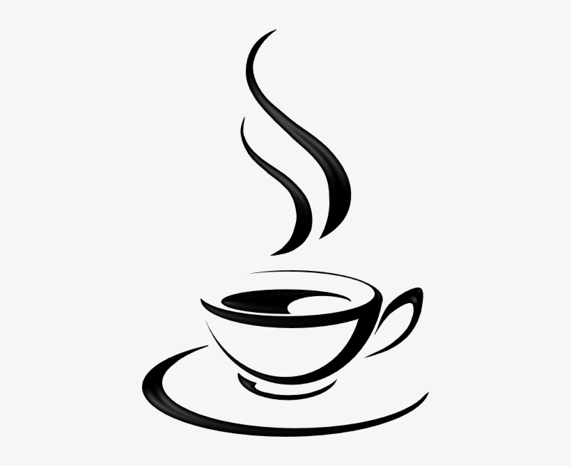 Coffee cup png silhouette. Tea image download of
