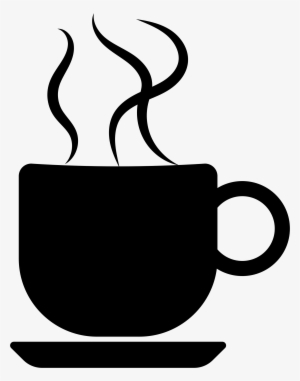 Coffee cup png silhouette. Transparent this free icons