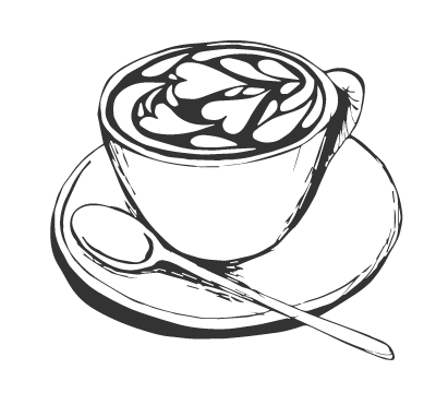Coffee cup sketch png. Collection of drawing