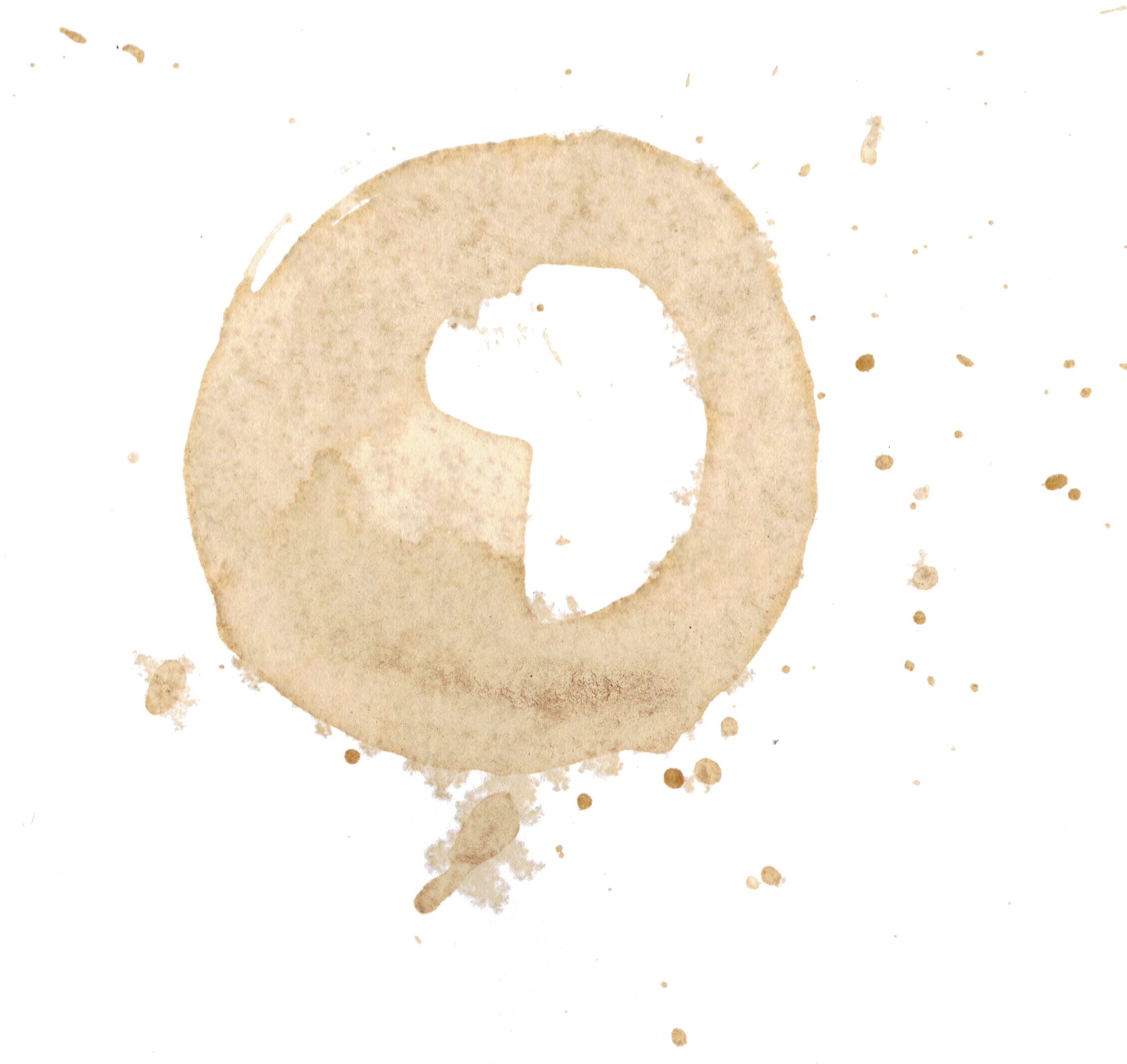 Coffee cup stain png. Image transparent onlygfx
