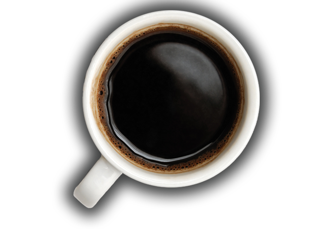coffee cup png top down