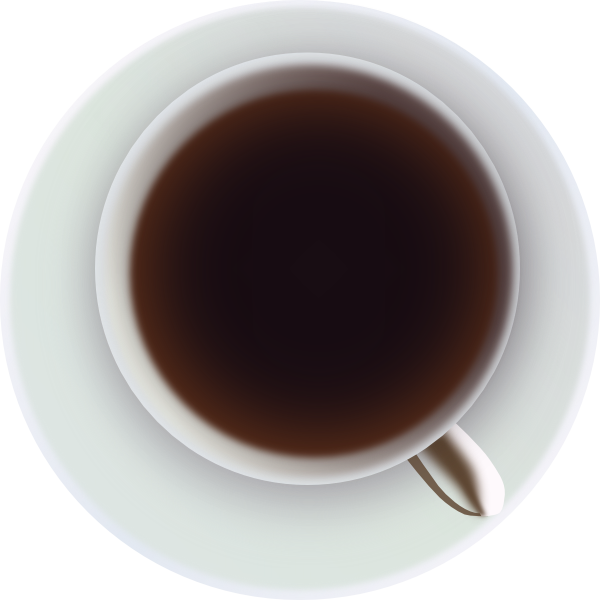 Coffee cup top view png. From clip art at