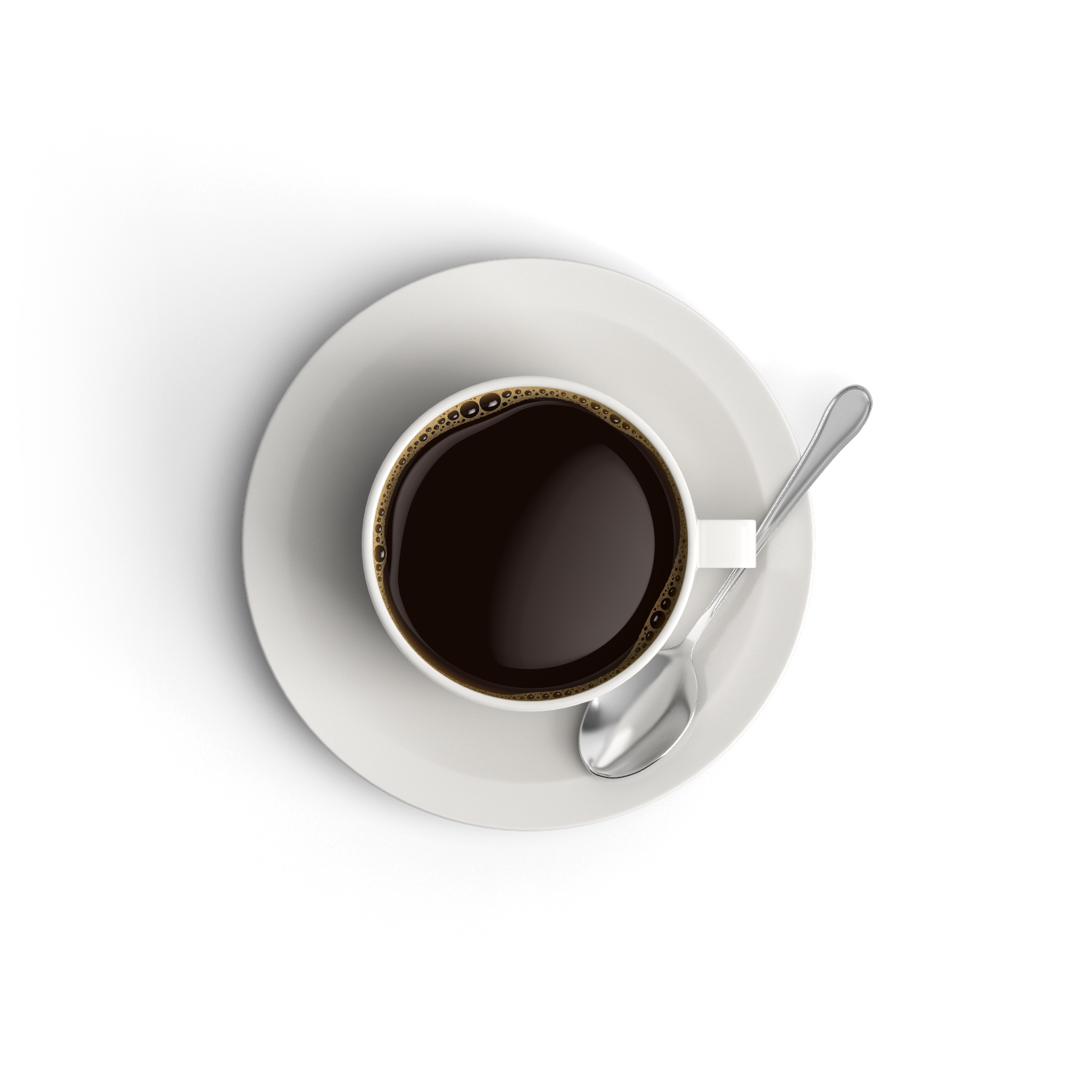 Coffee cup top view png. Object artisul