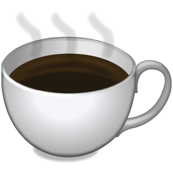 Coffee emoji png. Which new are you