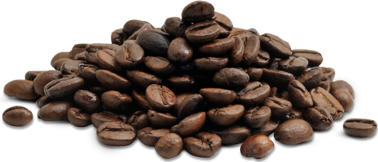 Coffee grounds png. Collection of beans