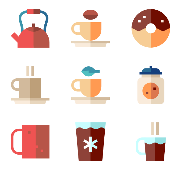 Coffee icons png. Cup free vector shop