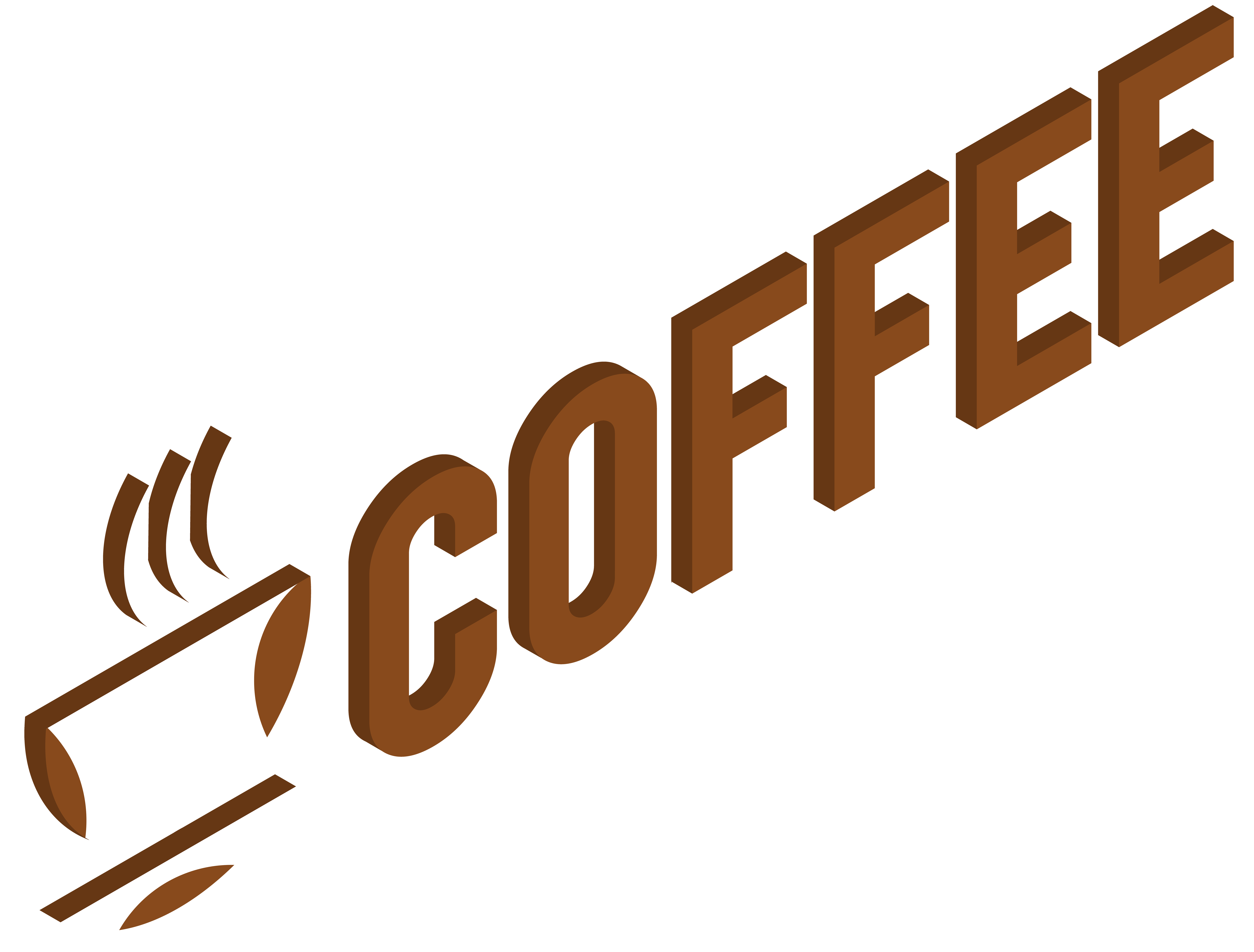 Coffee logo png. Transparent clip art image
