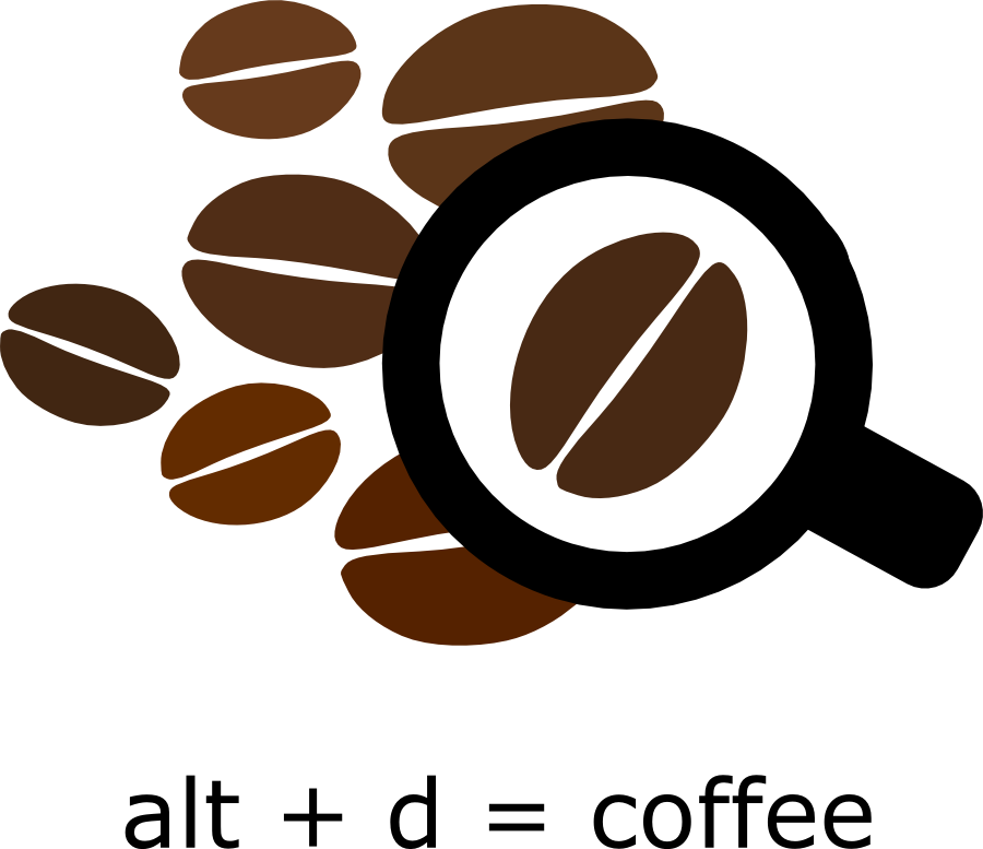 Coffee logo png. Should have a drupal
