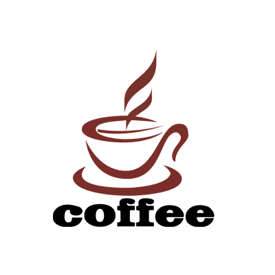 Coffee logo png. Design gallery inspiration logomix