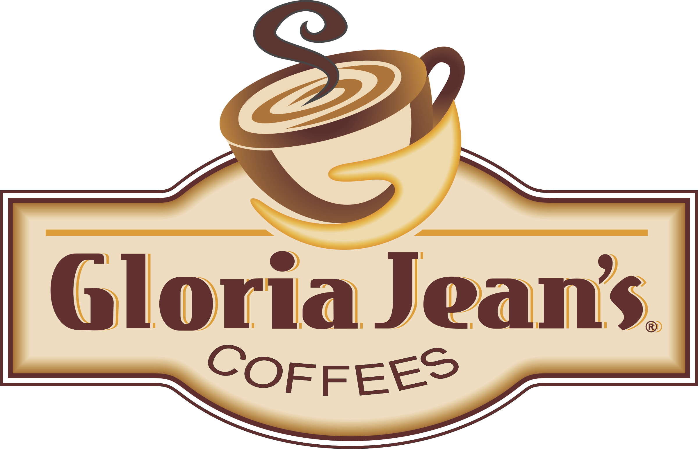 Coffee logo png. Gloria jeans transparent svg