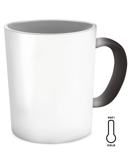 Coffee mug vector png. German color changing exclusive