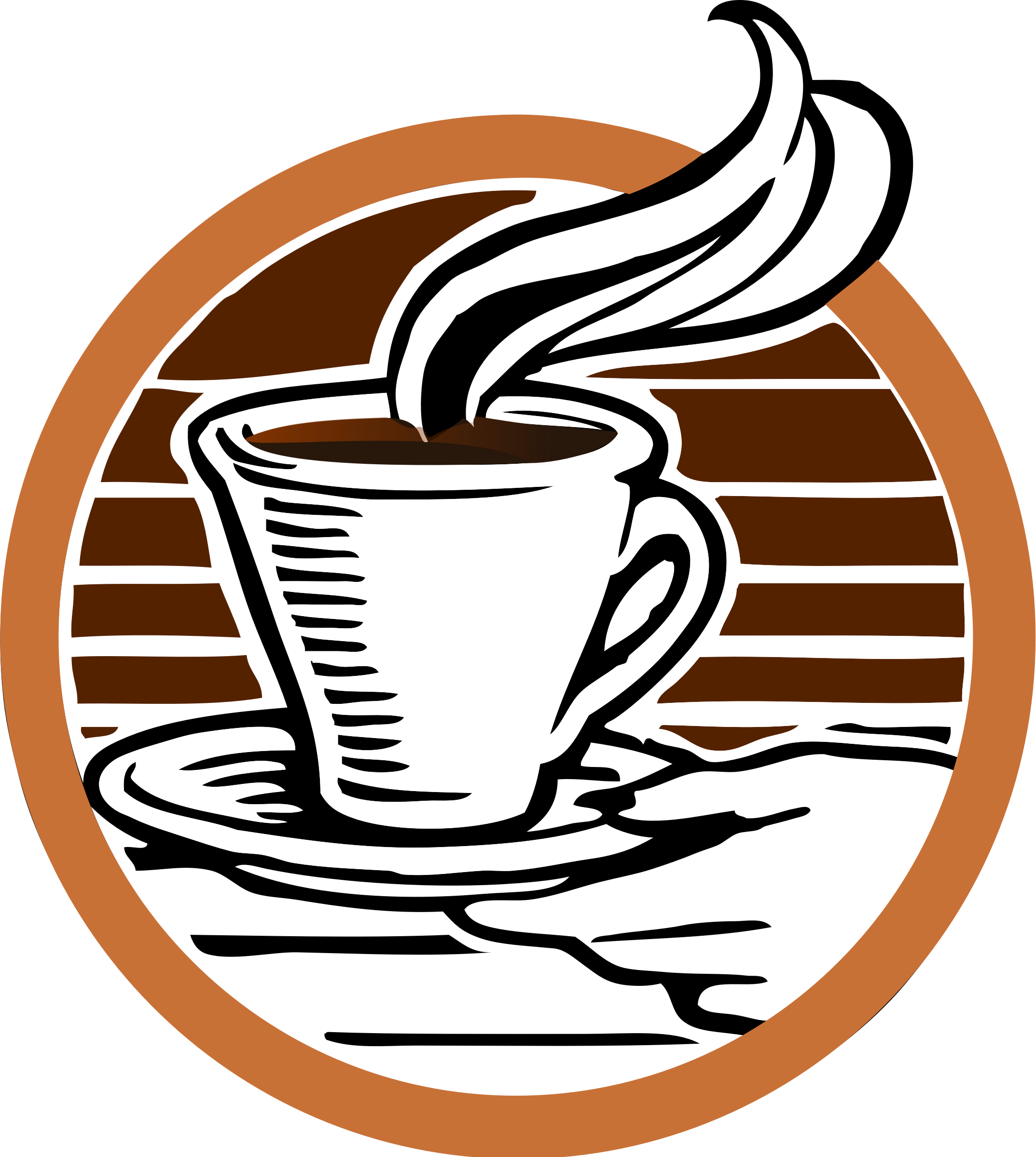 Coffee logo png. Transparent background mart