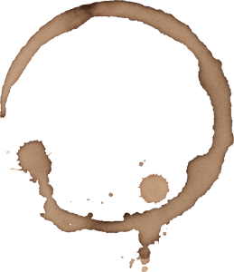 Coffee stain png. Rings transparent onlygfx
