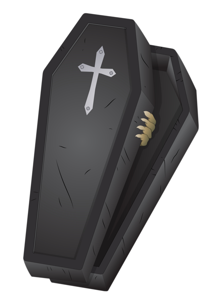 Coffin clipart png. Halloween black picture pinterest