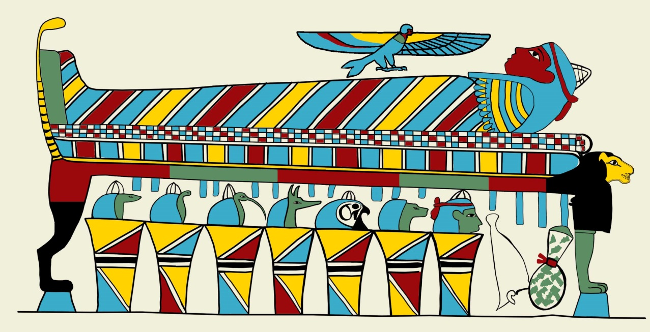 Coffin clipart mummy. Uncovering a colourful past
