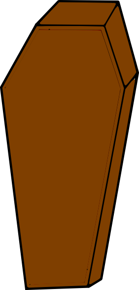 Coffin clipart png. Clip art at clker
