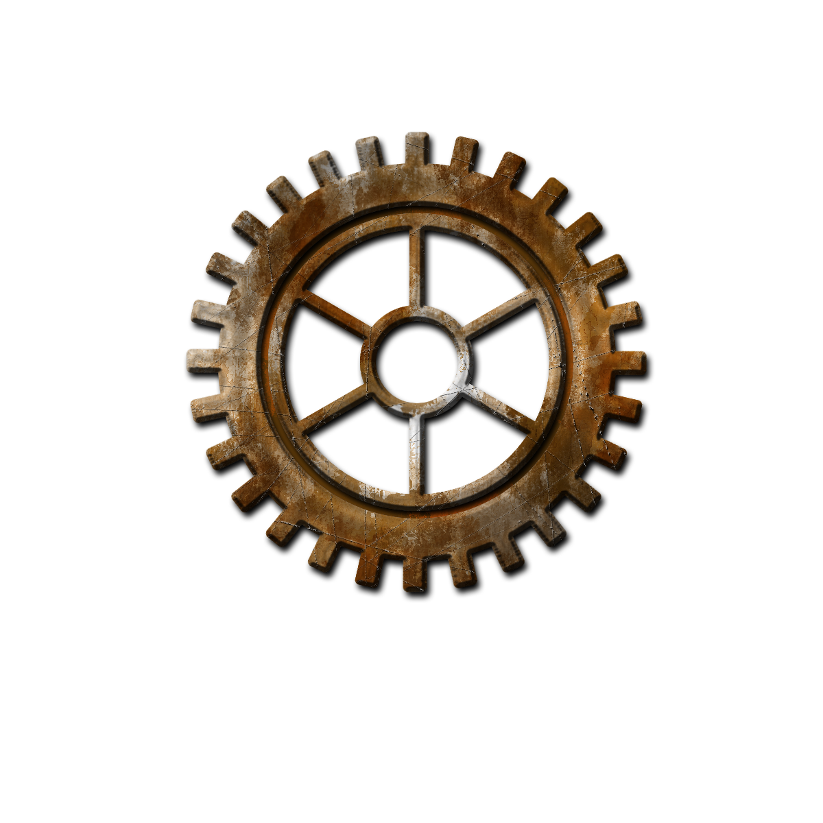 Svg gear steampunk. The sum of all