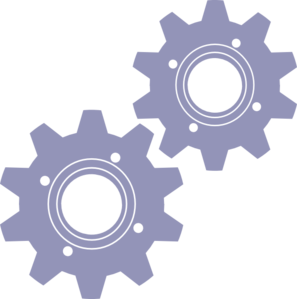 Cogs vector auto gear. Gears sizes clip art