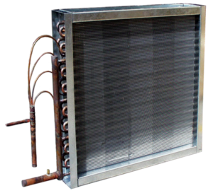 Coil drawing evaporator. Emergent coils