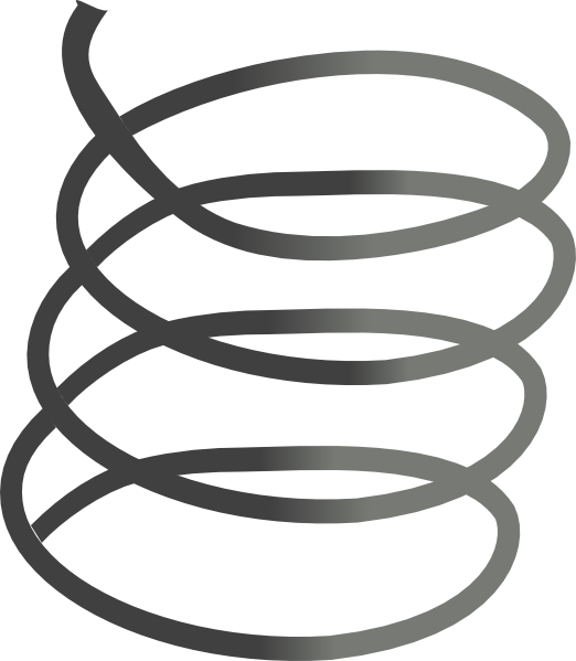 Coil vector. Free cliparts download clip
