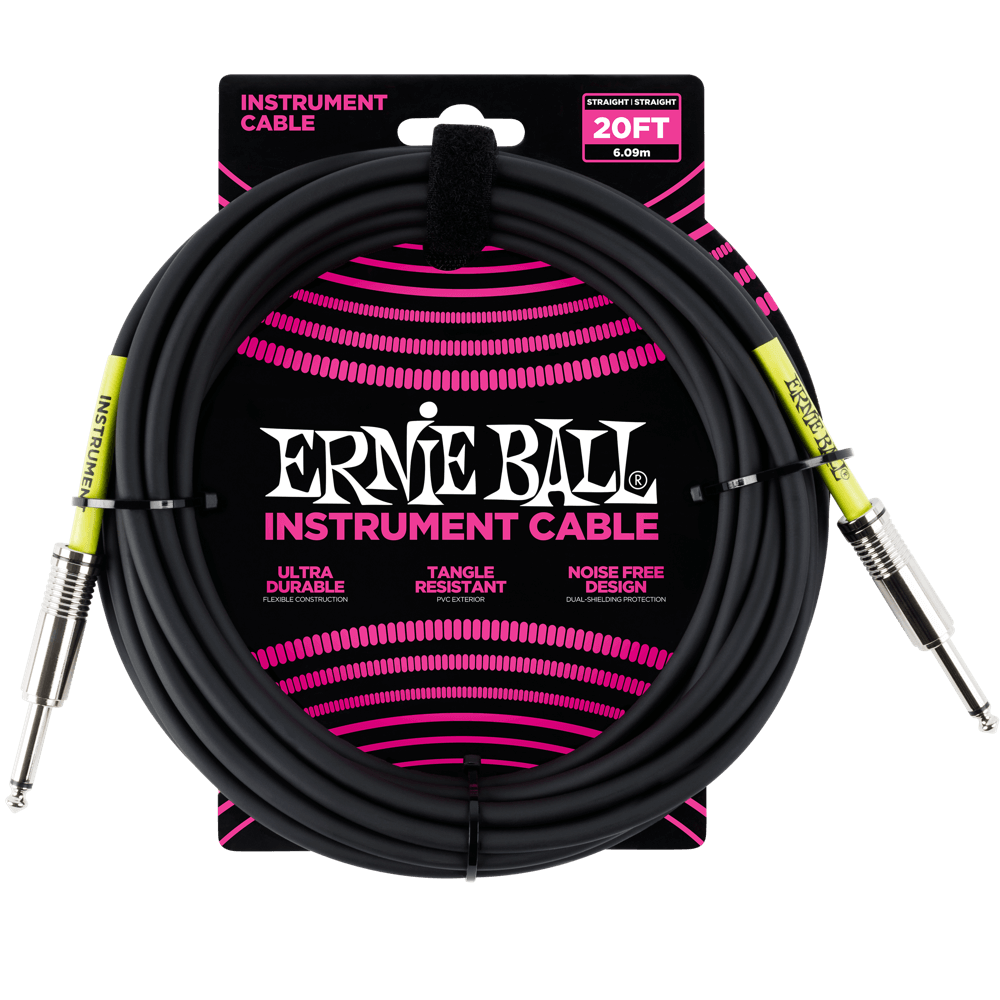 Cable vector guitar. Instrument cables ernie ball
