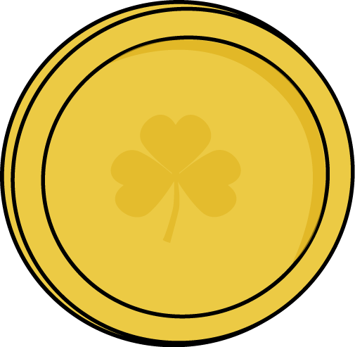 Free gold coins picture. Vector coin png graphic free
