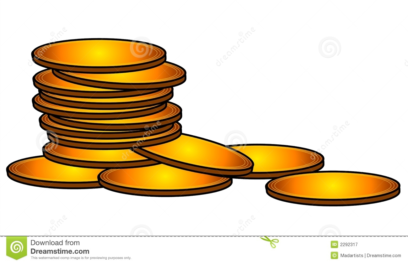 Coin clipart golden coin. Cash gold pencil and
