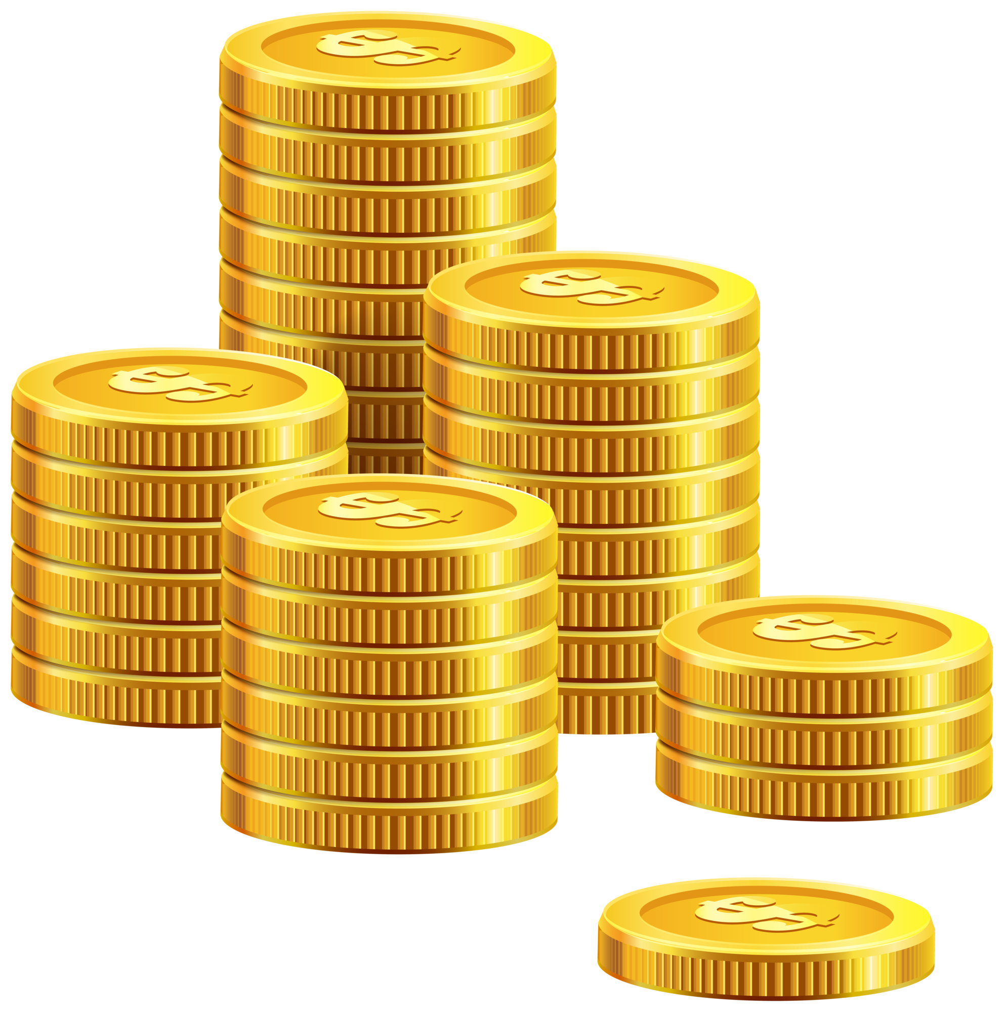 Coin clipart png. Pile of coins clip