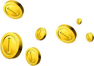 Coins falling png gif. Creating a smooth image