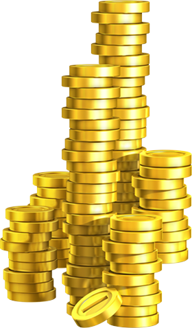 Pile of gold coins png. Image life heroes rp