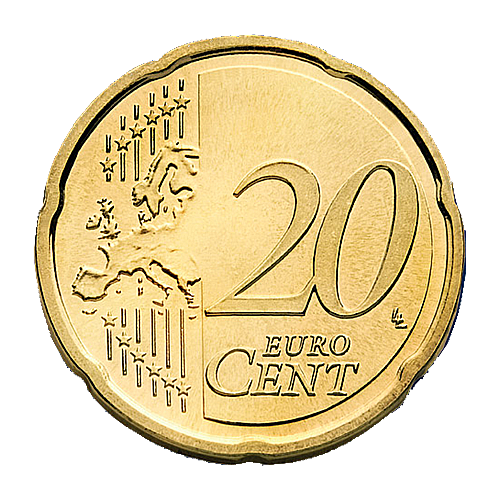 Coin .png. Euro png transparent image