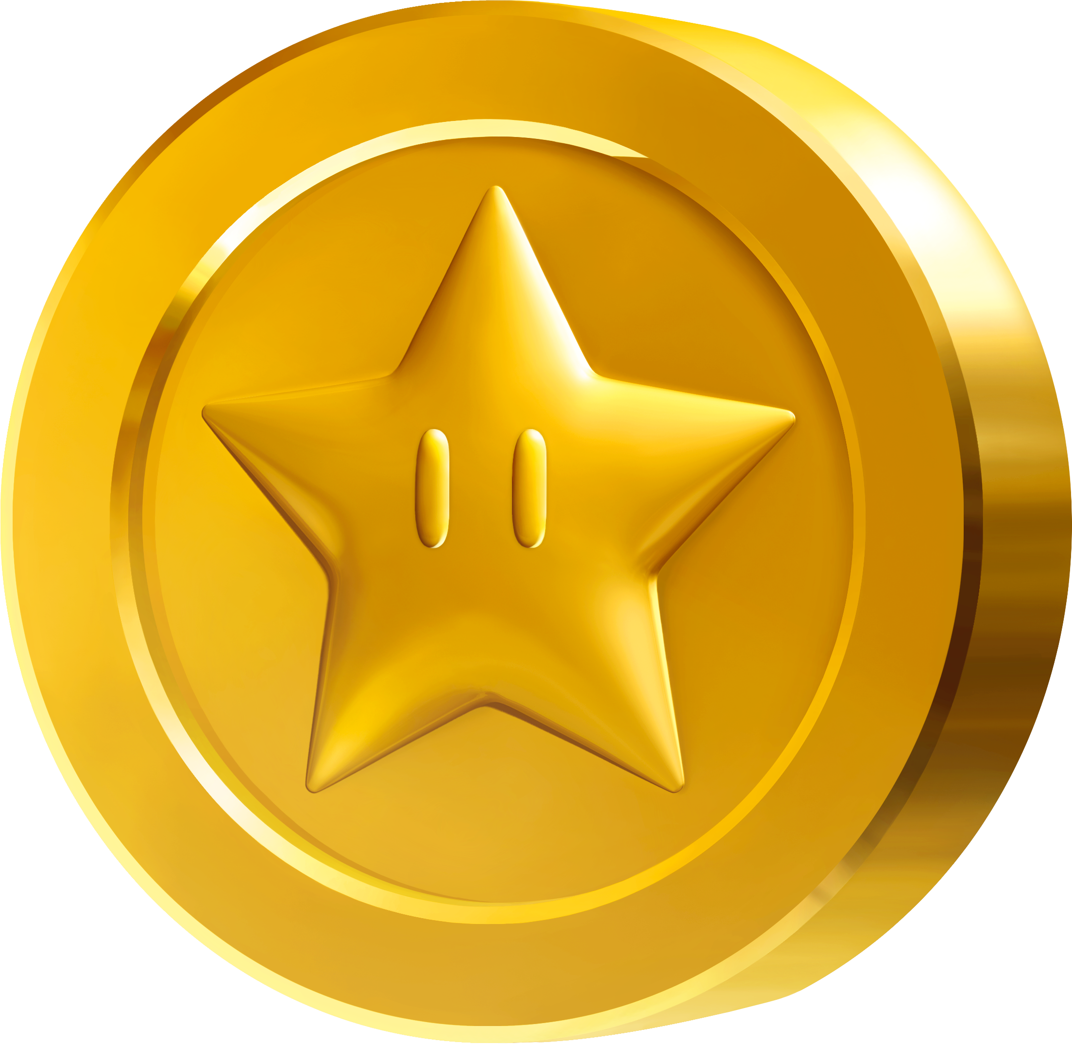 Coin png. Image star mariowiki fandom