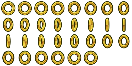 Coin sprite png. Ring hud by jaysonjeanchannel