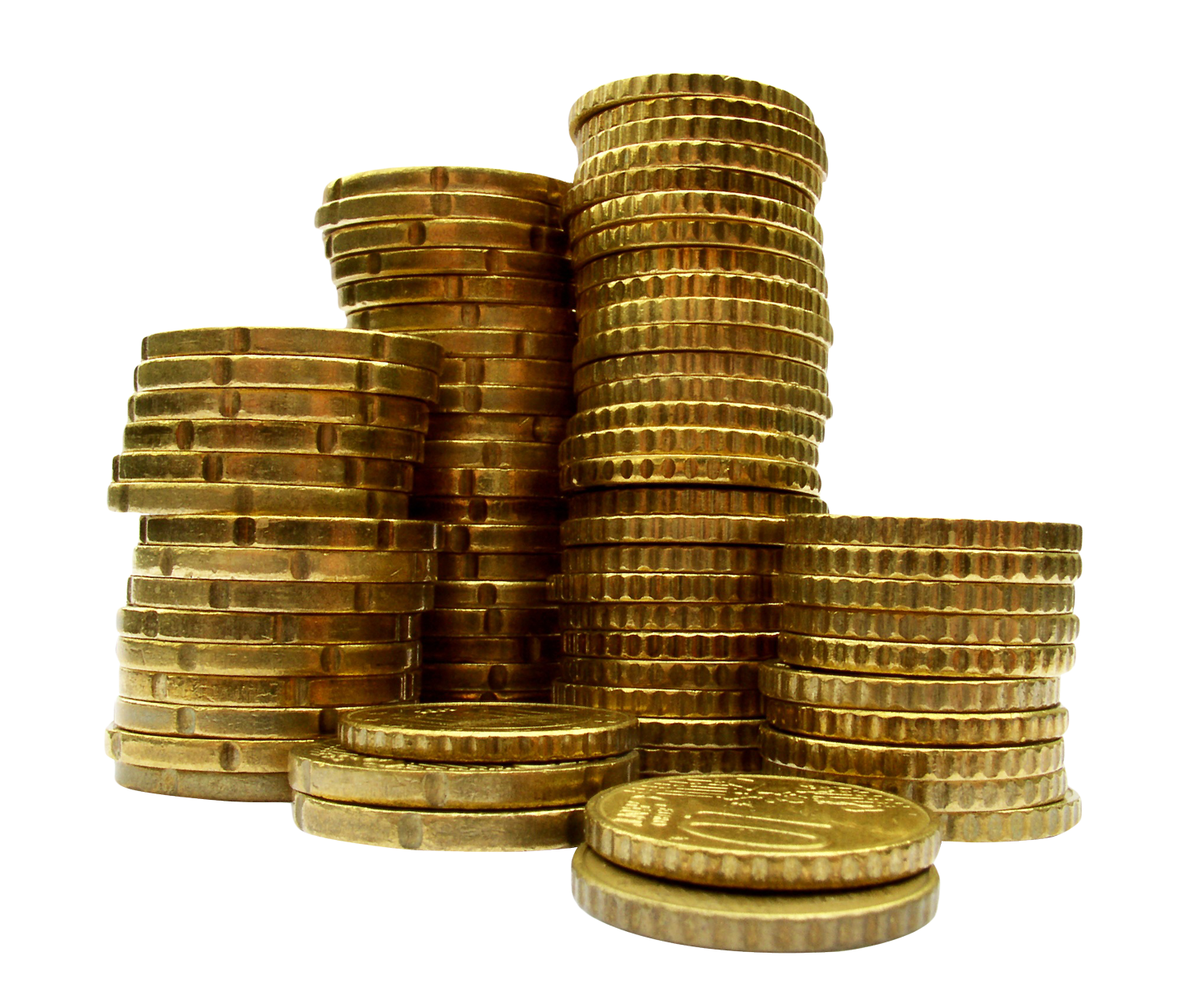 Pile of gold coins png. Coin stack free download