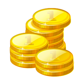 Coins clipart drawn. Coin for free download