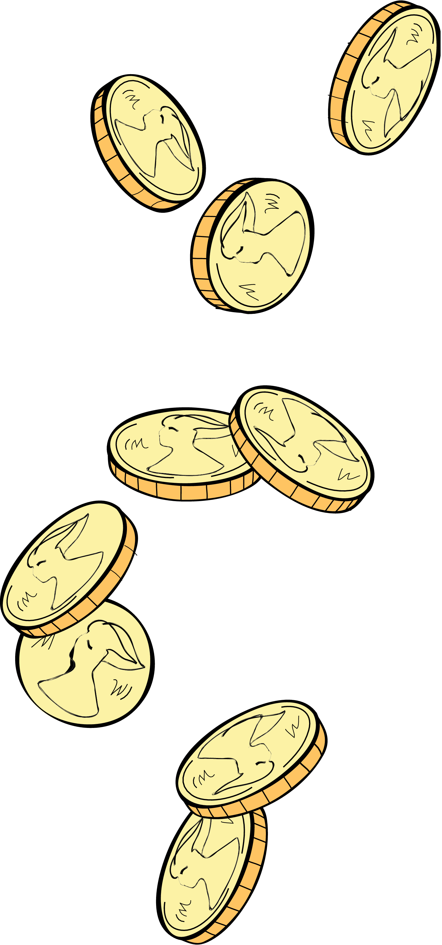 Coins falling png. Index of wp content