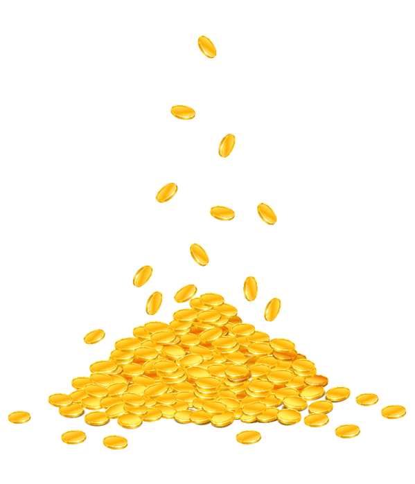 Coins falling png gif. Money images free download