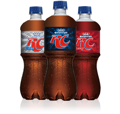 Cola. Rc dr pepper snapple