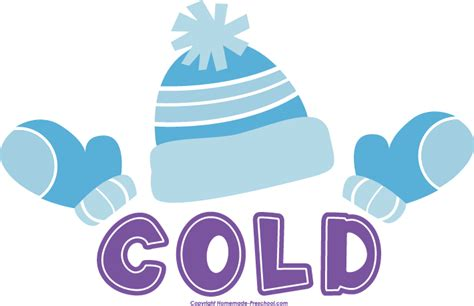 Cold clipart cold word.