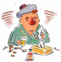 Cold clipart common cold. Baking soda for the