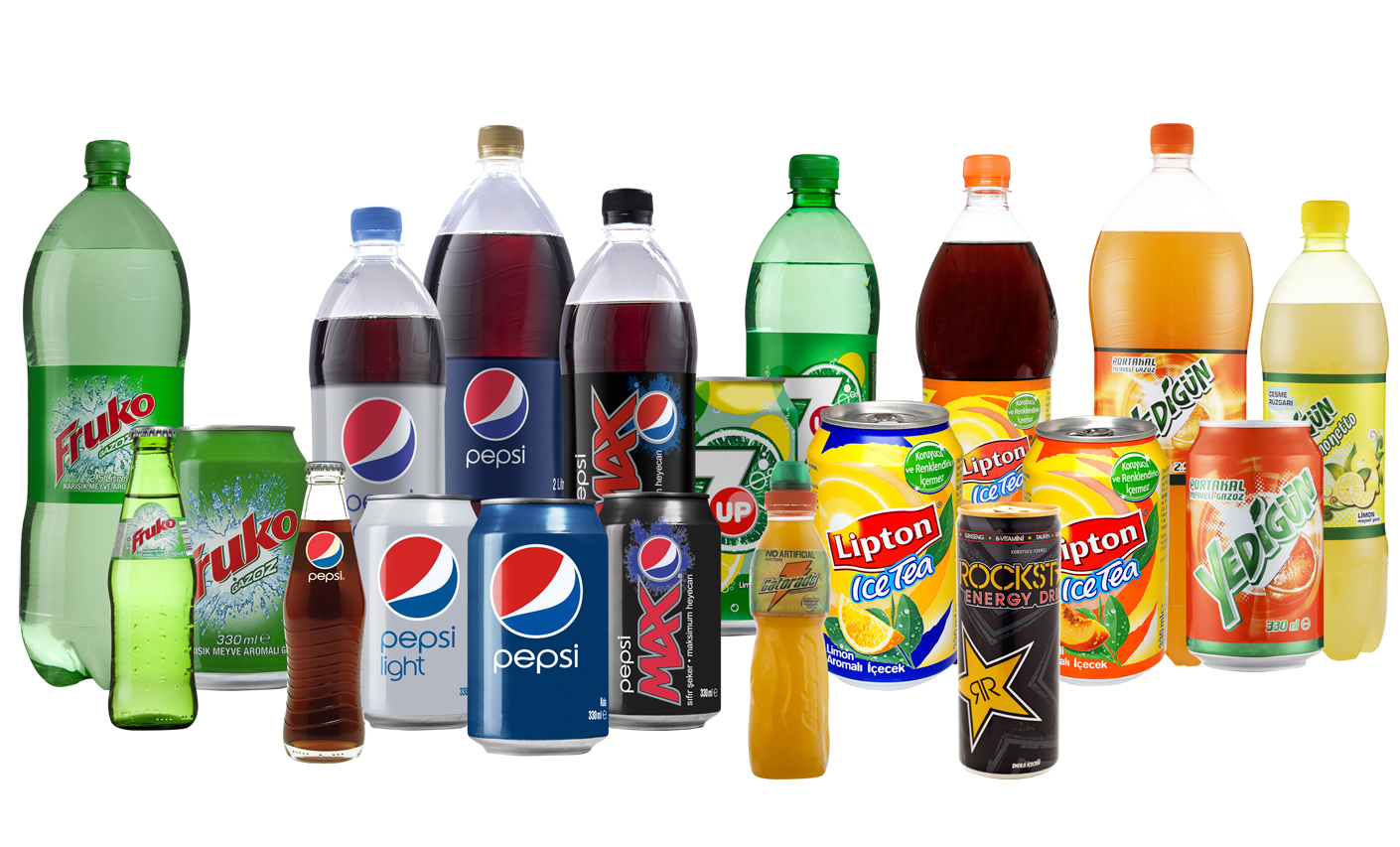 Soft drinks png. What are the harmful
