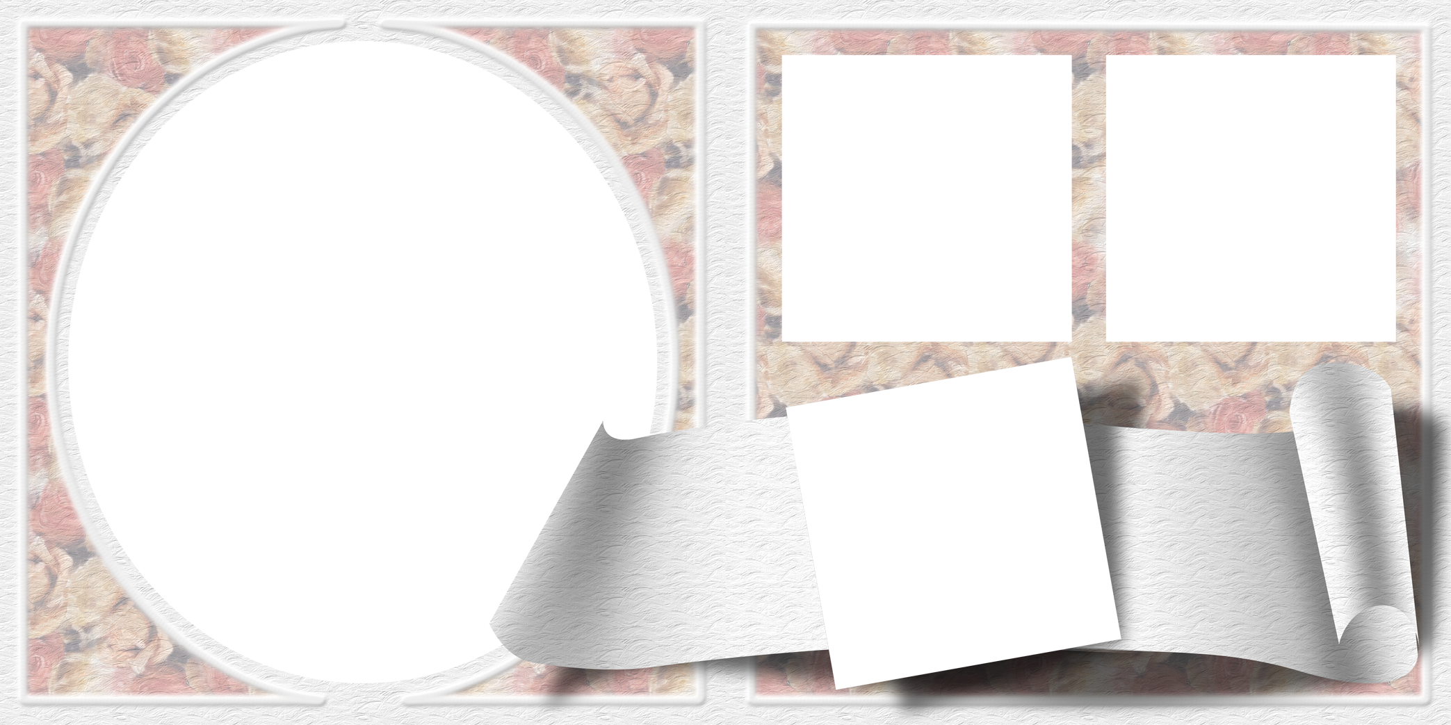 Frame clip collage. Photo transparent png pictures