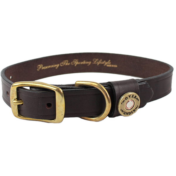 Collar transparent. Leather dog collars leashes