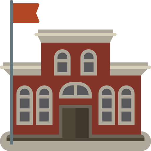 College building png. Highschool icon myiconfinder education
