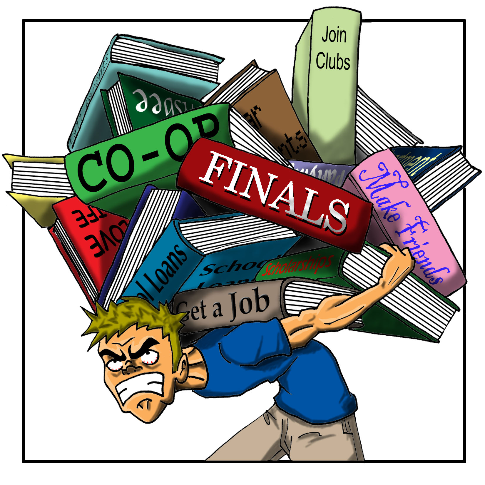 College clipart college success. Think american high school