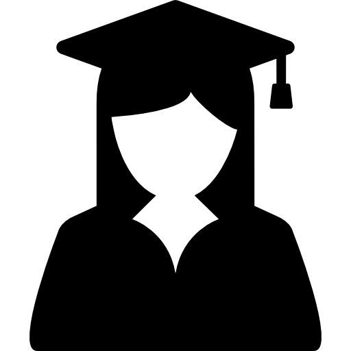 College graduation png. People icon page svg