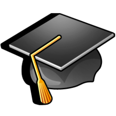Diploma clipart college diploma. Sunny day by iconshock