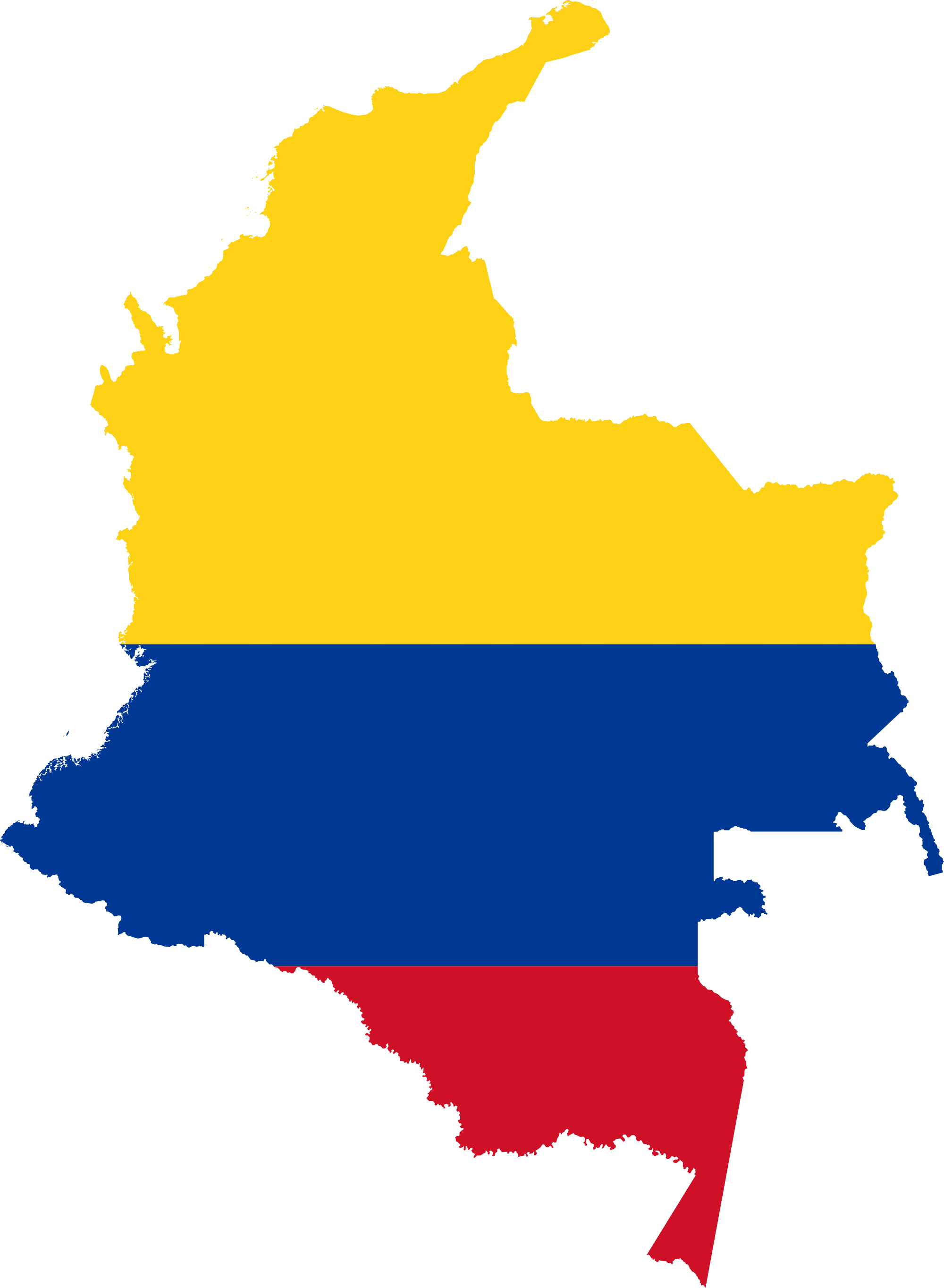 Colombia map png. File flag of svg