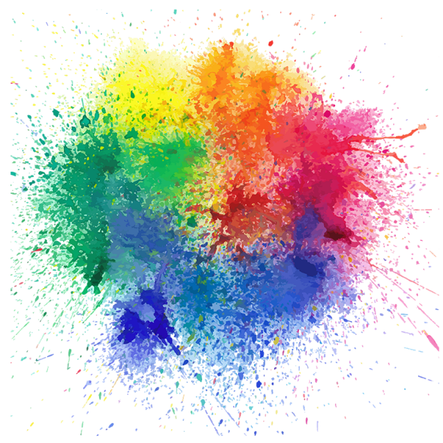 water color splatter png